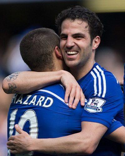 You can be like Ronaldo:  Cesc Fabrigas Encouraged Eden Hazard