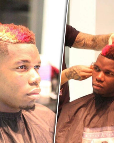 Manchester United Paul Pogba flew his personal Barber to Russia for a hair cut