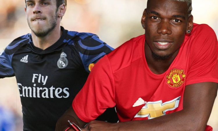 Manchester United and Real Madrid has agreed on a swap deal involving Pogba and Bale