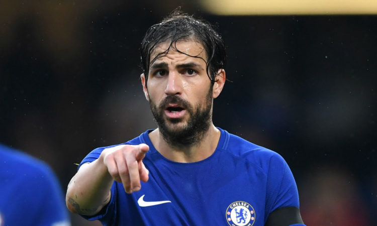 Cesc Fabregas makes Comment About Cristiano Ronaldo: Says His Overrated