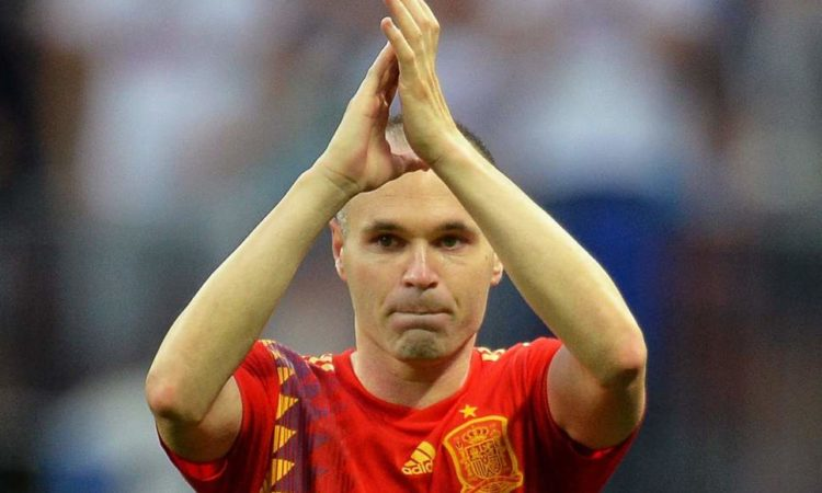 Andres Iniesta call his international career over