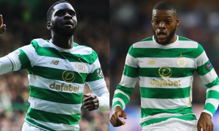 Celtic players Olivier Ntcham and Odsonne Edouard, involved in a car accident