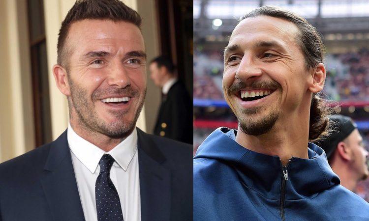 Zlatan Ibrahimovic and David Beckham have made an outrageous bet between Sweden and England