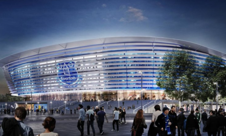 Everton gets land for new stadium
