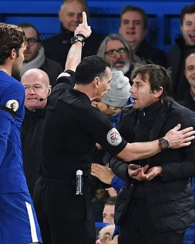 Antonio Conte Charged by the English FA For Misconduct