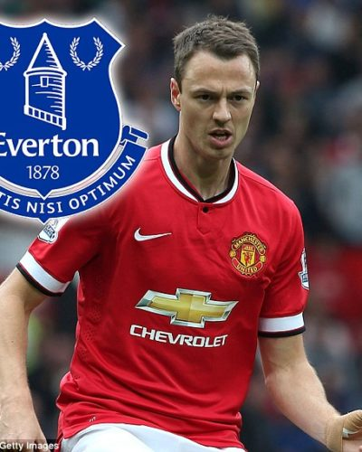 Everton to Move for Man U Defender, Evans in January