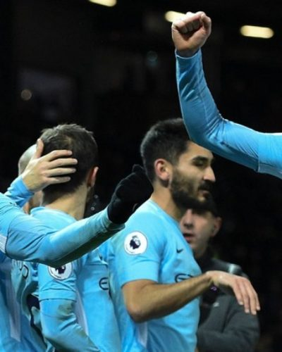 Manchester City Brushes Spurs Aside to go 14 Points Clear; just as Chelsea and Arsenal Secure Narrow Wins