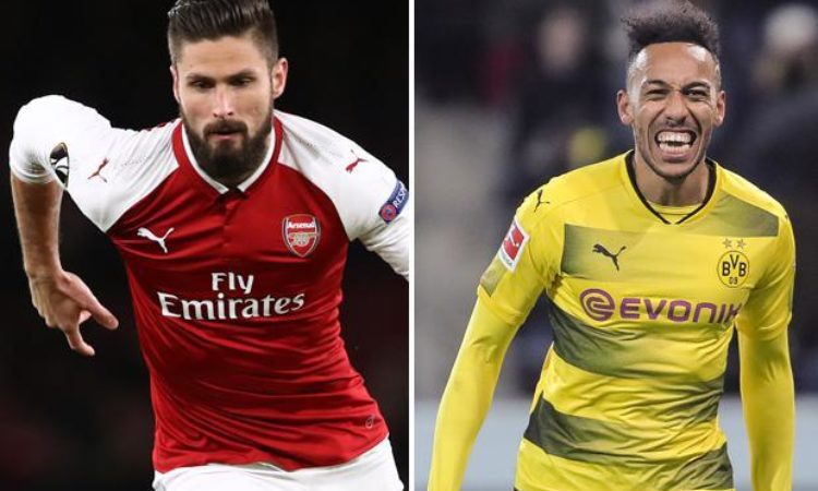 Aubamayang, Batshauyi and Giroud in Transfer Dilenma as January Curtain Wind-Down
