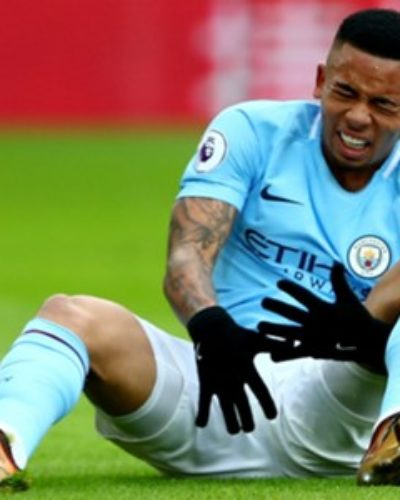Gabriel Jesus Ruled out with a Medial Collateral Ligament Damage, Man City have Confirmed