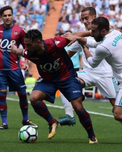 Levante Holds Inconsistent Real Madrid to a 2-2 Draw to Pile Pressure on Zidane