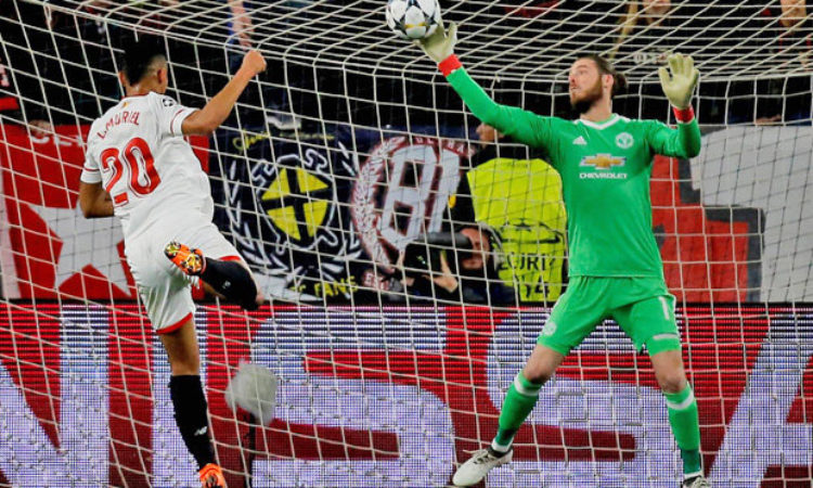 Manchester United Earned a 0-0 Draw Against Sevilla