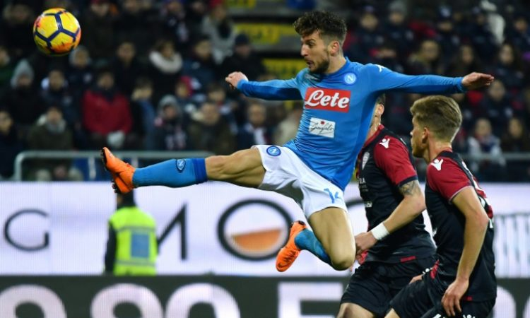 Napoli Extends Their Lead at the Seria A with a 5-0 Victory at Cagliari