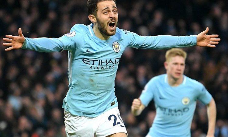 Bernado Silva Scores as City Beat Toothless Chelsea