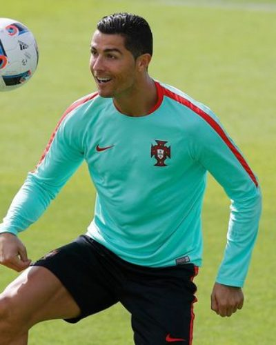 Cristiano Ronaldo Focused in training and Motivated ahead of Iran Match