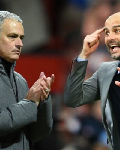 Jose Mourinho and Pep Guardiola battle over Kylian Mbappe