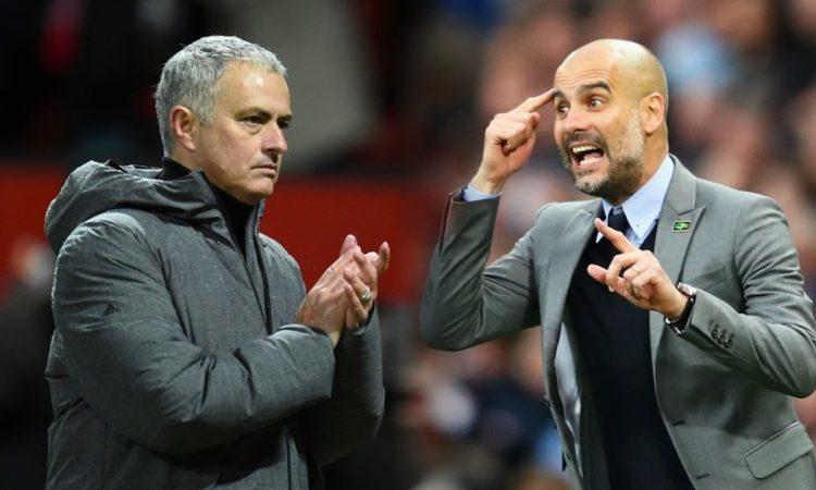 Jose Mourinho and Pep Guardiola battle over Kylian Mbappe