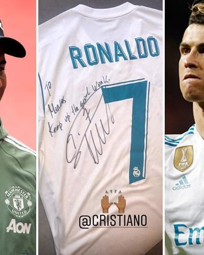 Marcus Rashford Declared Cristiano Ronaldo His Idol and  best in the world