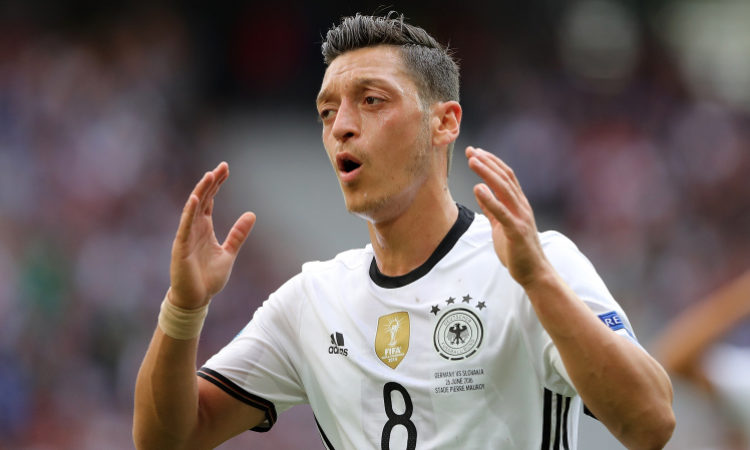 Mesut Ozil mocked for Germany loss