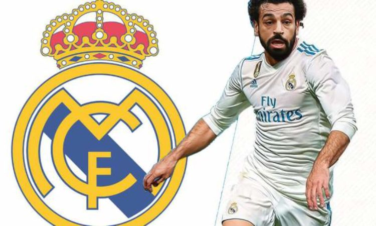 How Mohammed Salah will look in Real Madrid Jersey