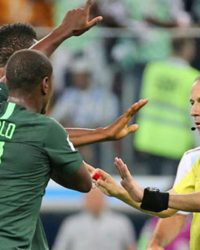 Referee's Penalty decision on Nigeria Vs Argentina Right or Wrong ? Compared to Iran Vs Portugal