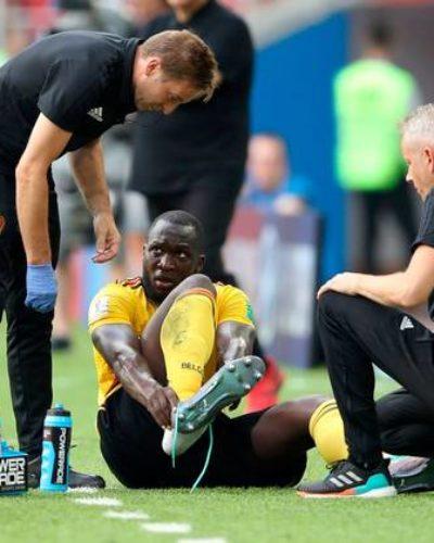 Romelu Lukaku a big doubt ahead of England clash