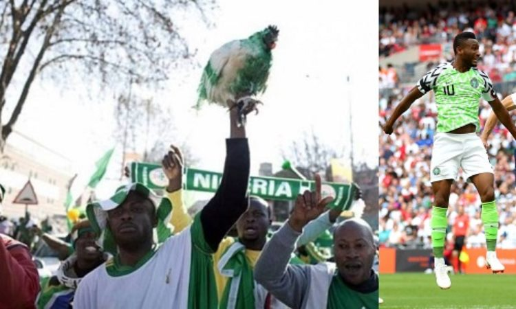 Super Eagles  Fans Banned from Bringing Live Chickens into Stadium