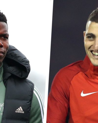 PSG  to exchange Verratti and Paul Pogba plus cash transfer with Manchester United
