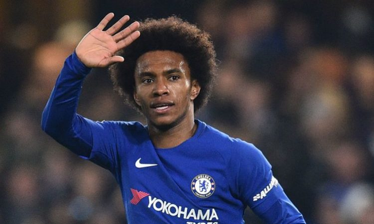 Sarri talks about Willian as he prepares for his baptism of fire today