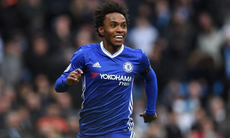 Reliable journalist confirms Man U signing of Chelsea Willian will happen soon