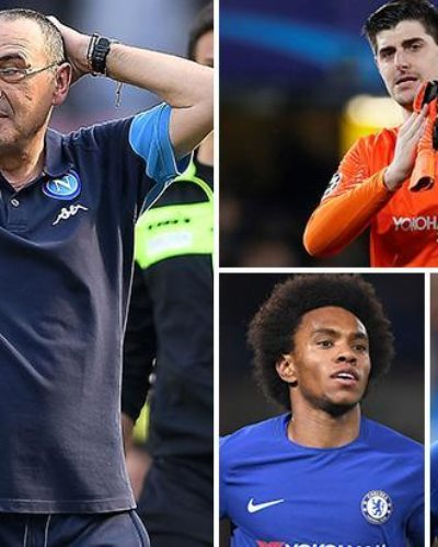 Sarri to go extra miles in keeping Hazard,  Courtois and Willian in Chelsea