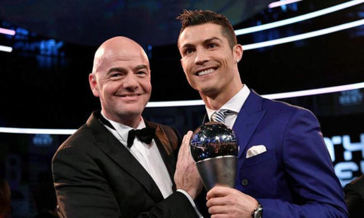 Cristiano makes us dream Says FIFA boss- La Liga must secure another Ronaldo