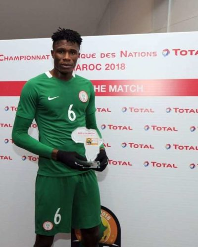 Udoh: Flying were banked to beat Mauritania
