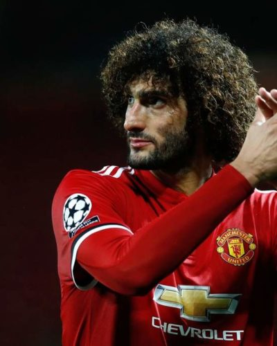 Maroune Fellaini finally agrees a new deal with Manchester United