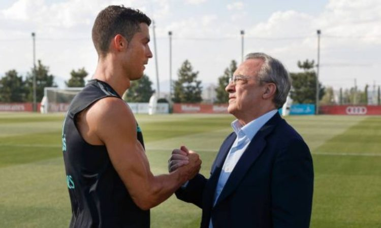 Ronaldo at war with Madrid president-cancels his Madrid visit
