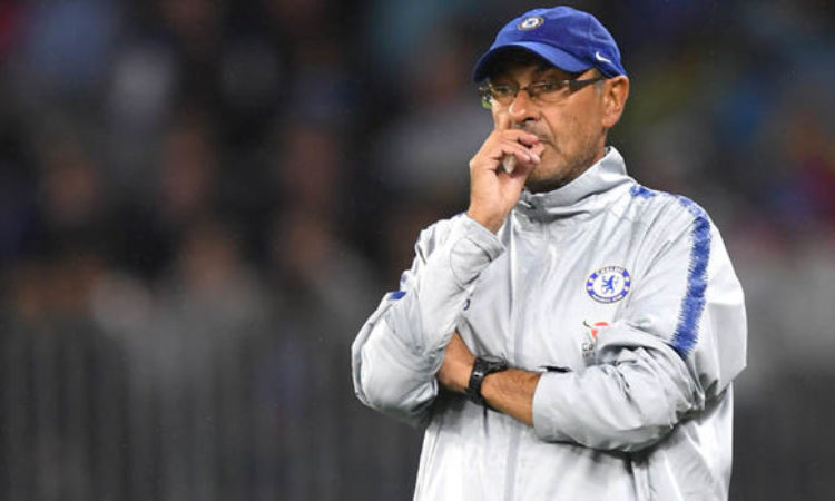 Sarri reveal what he and Kloop did during Liverpool-Chelsea game.