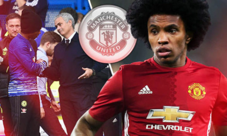 Man United finally grabbed their dream Player Willian from Chelsea