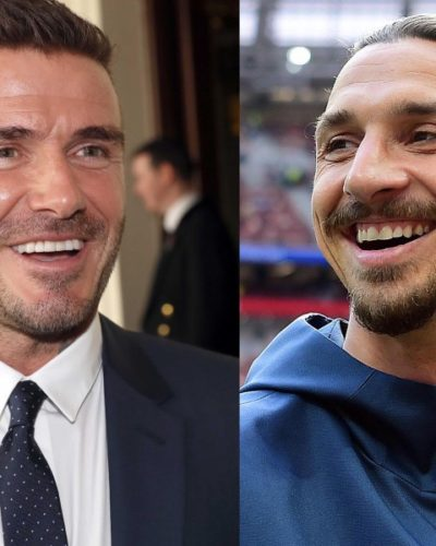 Zlatan Ibrahimovic and David Beckham have made an outrageous bet between Sweden and England