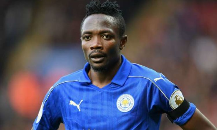 Ahmed Musa the record signing for the Foxes, departs Leicester joins Saudi Arabian club