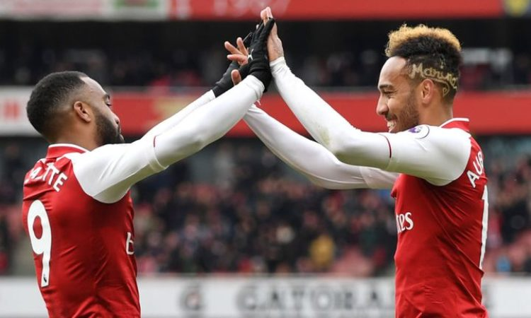 Aubamayang and Lacazette expected to hit double figures