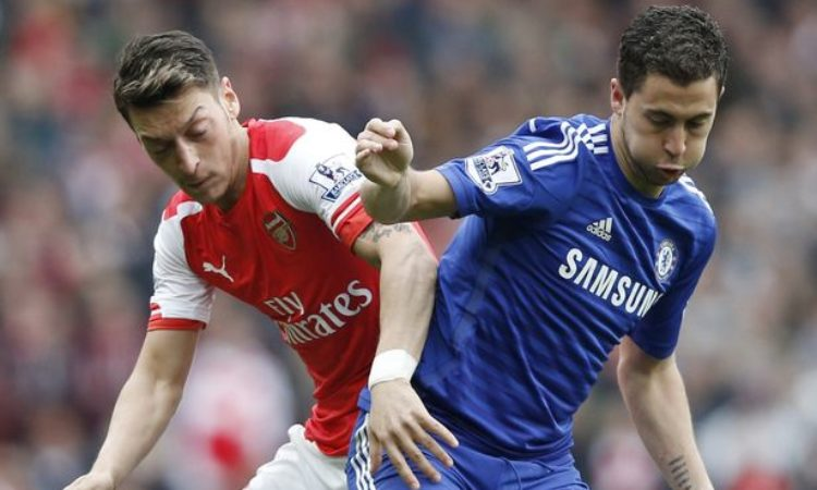 Eden Hazard and Mesuit Ozil claims best player as London derby nears