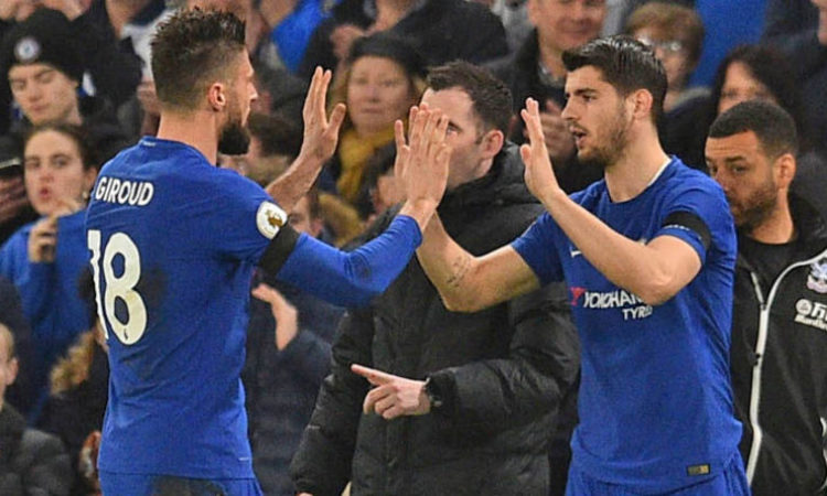 Opinion: Why Chelsea boss must play Giroud before Morata to Win Arsenal