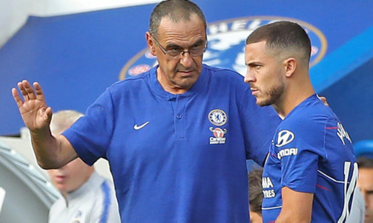 Benitez Says Chelsea have Enough Quality to Finish top 3-Sarri insists Hazard  is going nowhere