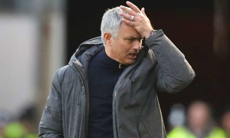 Pressure piles on Jose Mourinho ahead of Burnley visit
