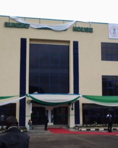 NFF glasshouse on lockdown as FIFA date expires