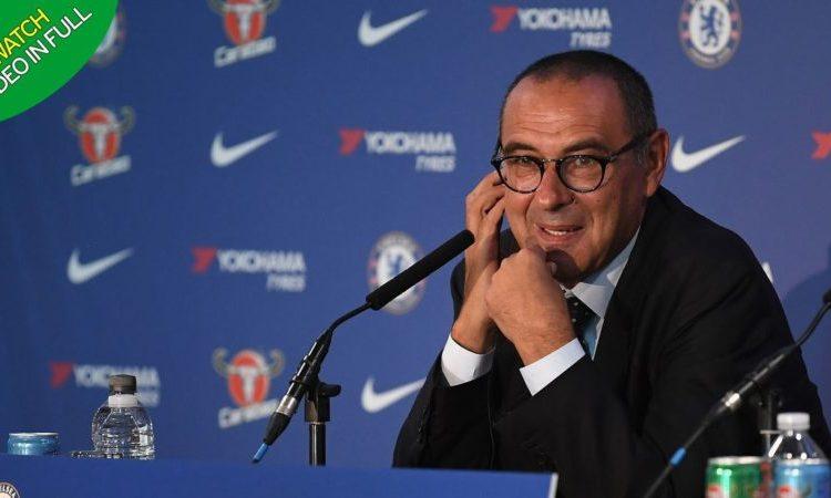 Sarri shocking statement: Praised Eden Hazard, surprised by Newcastle's defensive setup