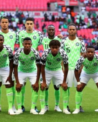 Super Eagles depart for Seychelles