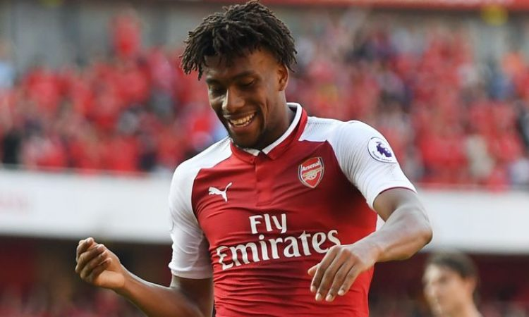 Unai Emery pleased as Iwobi commits future to the Gunners
