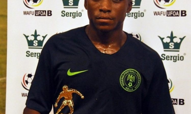 Golden Eaglets center forward, Olakunle Olusegun on course to become top scorer