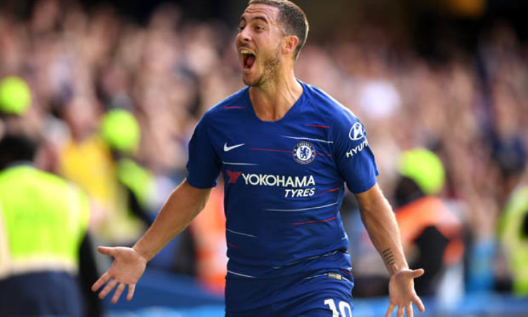Chelsea not thinking about the title: Hazard insists