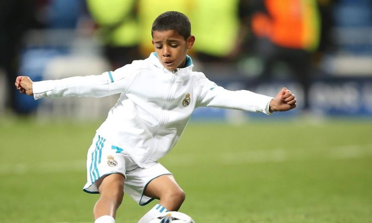 Ronaldo Junior outclasses father: Scored four times in his league debut